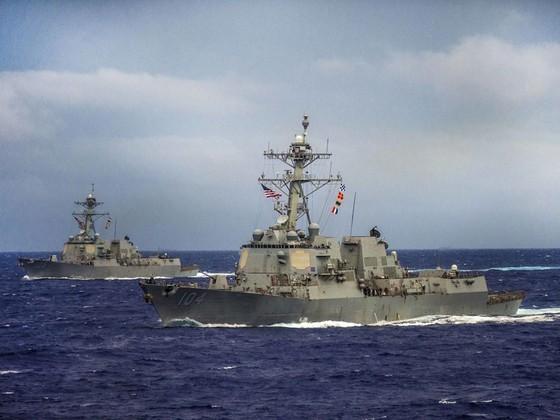 Mỹ điều tàu chiến tới khu vực Thái Bình Dương - Ấn Độ Dương ảnh 1