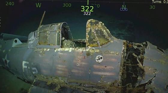 Tìm thấy xác tàu sân bay USS Lexington của Mỹ bị đánh chìm 76 năm trước ảnh 2