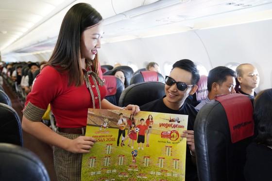 Hành khách hào hứng với lịch thi đấu World Cup 2018 của Vietjet ảnh 3