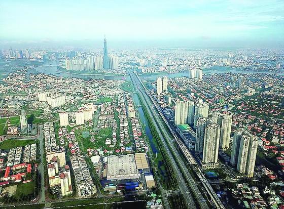 Ngắm thành phố lung linh từ trên cao ảnh 1