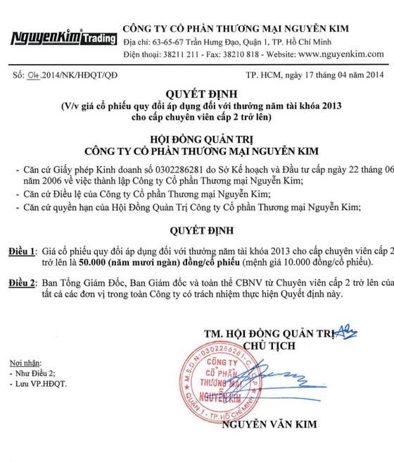 Điện máy Nguyễn Kim bị phạt và truy thu thuế gần 150 tỷ đồng ảnh 3