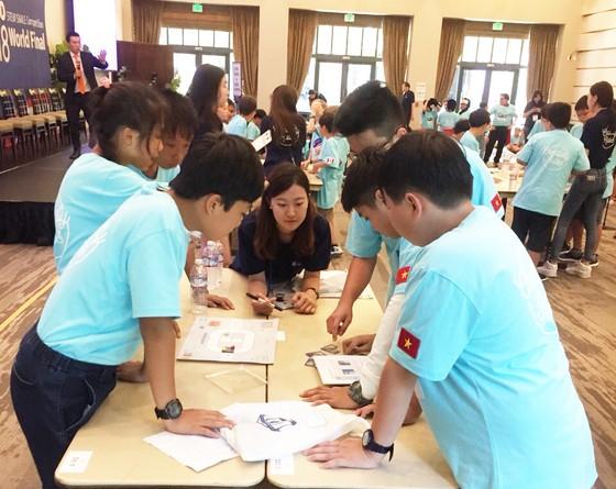 Việt Nam đoạt 5 huy chương bạc và đồng tại cuộc thi Toán học Thế giới - WMO 2018 ảnh 3