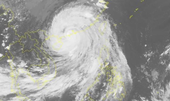 Bão số 6 đổ bộ vào phía Nam Trung Quốc, nguy cơ xảy ra lũ quét ở các tỉnh miền núi phía Bắc ảnh 1