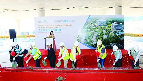 Hòa Bình hoàn thành giai đoạn 2 dự án khu nghỉ dưỡng ALMA Nha Trang ảnh 1
