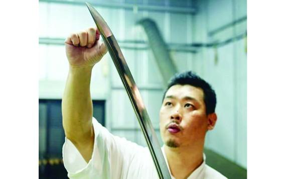 Độc đáo nghề làm kiếm samurai  ảnh 1