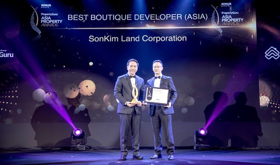 """SonKim Land nhận giải """"Best Boutique Developer"""" tại lễ trao Giải thưởng Bất động sản châu Á 2018  ảnh 1"""