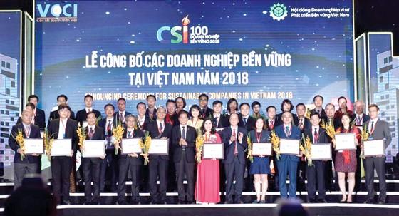 Công ty CP Tập đoàn Xây dựng Hòa Bình nhận giải thưởng Doanh nghiệp bền vững năm 2018 ảnh 2