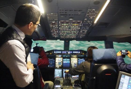 Bên trong khu đào tạo bay của Korean Air   ảnh 11