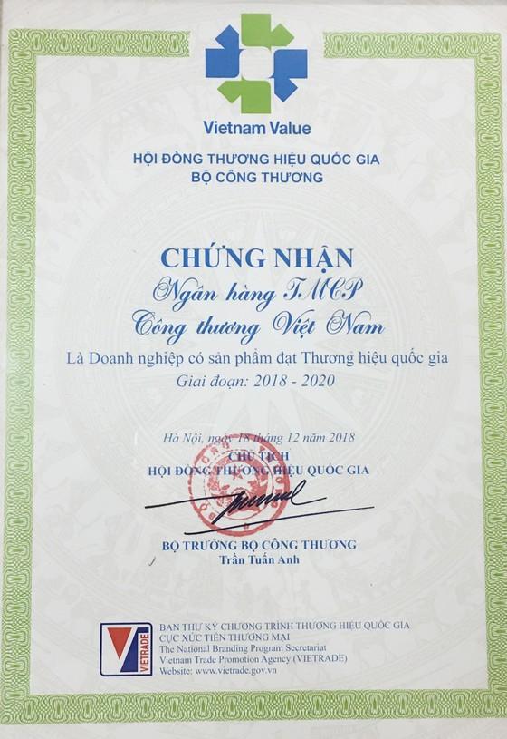 VietinBank lần thứ 5 liên tiếp đạt giải Thương hiệu Quốc gia ảnh 3