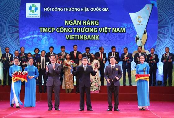 VietinBank lần thứ 5 liên tiếp đạt giải Thương hiệu Quốc gia ảnh 1
