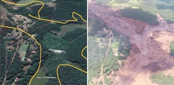 Nguy cơ vỡ thêm đập tại Brazil ảnh 1