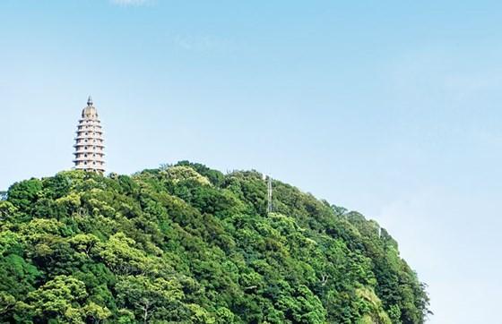 Đền thờ Bác Hồ - Linh thiêng trên đỉnh núi Vua ảnh 1