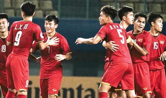 Đội U.22 Việt Nam hội quân ở TPHCM. Ảnh: ĐOÀN NHẬT
