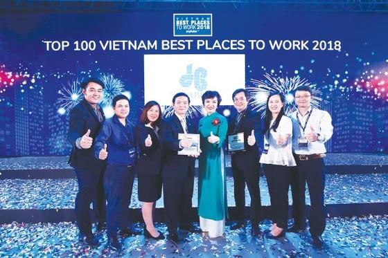 Công ty CP Tập đoàn Xây dựng Hòa Bình 4 năm liêp tiếp đạt Tốp 100 Nơi làm việc tốt nhất ảnh 1