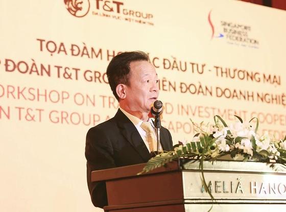 Tập đoàn T&T Group và Liên đoàn Doanh nghiệp Singapore trao đổi hợp tác thương mại và đầu tư ảnh 1