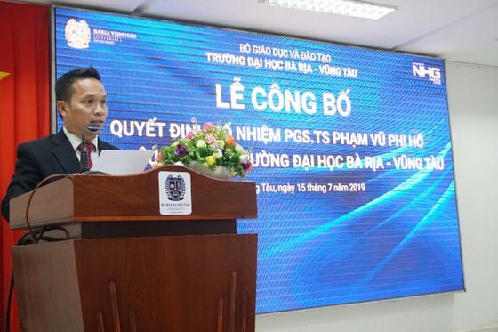PGS.TS Phạm Vũ Phi Hổ được bổ nhiệm làm Phó Hiệu trưởng Đại học Bà Rịa – Vũng Tàu ảnh 3