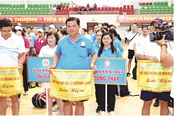 Hội thao XSKT khu vực miền Nam lần thứ VIII - năm 2019 tại tỉnh Hậu Giang ảnh 7