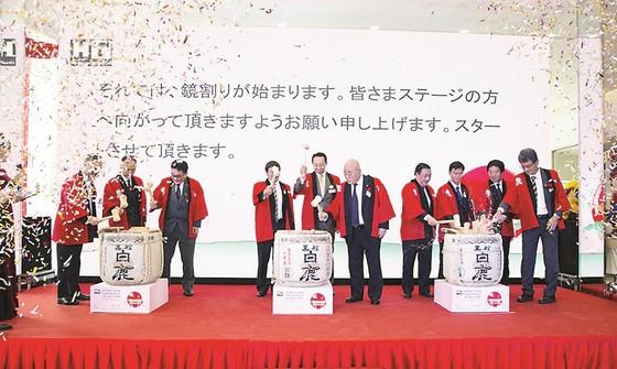 Khai trương Showroom Toyota Hiroshima Tân Cảng - HT do Hòa Bình làm tổng thầu ảnh 1