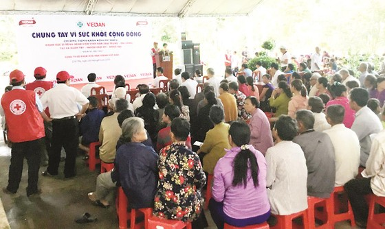 Công ty Vedan Việt Nam khám bệnh từ thiện và phát thuốc miễn phí tại tỉnh Đồng Nai ảnh 7