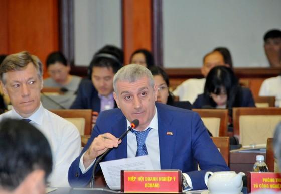 Hội nghị gặp gỡ giữa lãnh đạo TPHCM và doanh nghiệp FDI: Đột phá cơ chế, phát triển nhanh và bền vững  ảnh 5