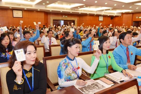 Đồng chí Trần Thị Diệu Thúy tái đắc cử Chủ tịch Liên đoàn Lao động TPHCM khóa XI ảnh 3