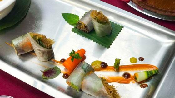 Tuần lễ Văn hóa ẩm thực chay 2018 tại Công viên văn hóa Đầm Sen ảnh 3