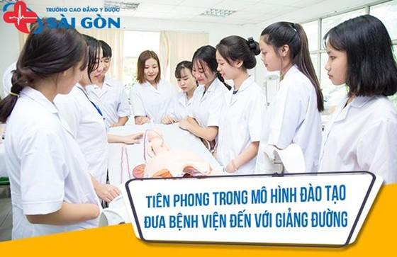 Trường Cao Đẳng Y Dược Sài Gòn đơn vị uy tín đào tạo nguồn nhân lực y tế trên địa bàn TPHCM  ảnh 3