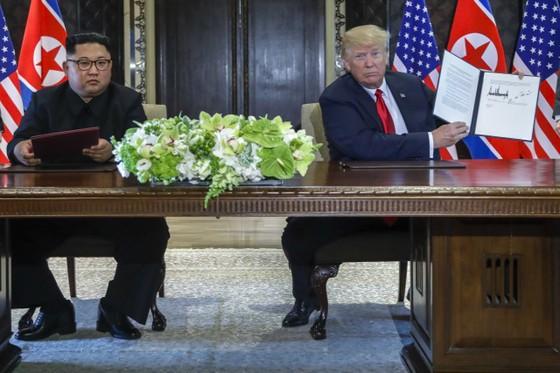 美朝簽歷史協議 宣佈世界將有巨變 ảnh 1