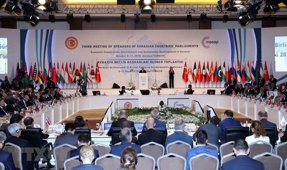 第三屆亞歐國家議長會議閉幕  通過《安塔利亞聲明》 ảnh 1