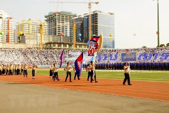"""柬埔寨""""勝利日""""40 週年紀念隆重舉行 ảnh 1"""