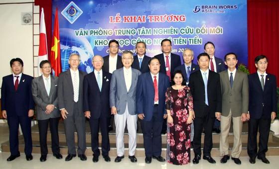 Khai trương Văn phòng Trung tâm khai thác công nghệ thông tin Việt Nam – Nhật Bản ảnh 1
