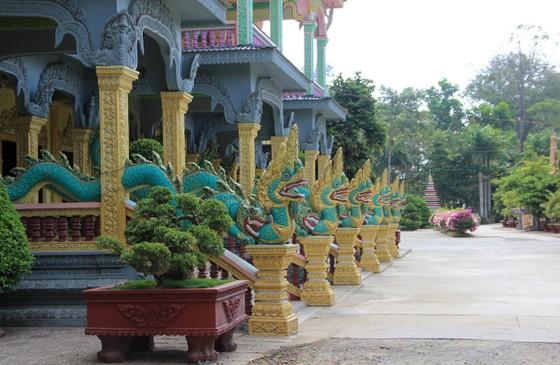 Ngôi chùa thu hút đông đảo giới trẻ miền Tây kéo đến check-in ảnh 12