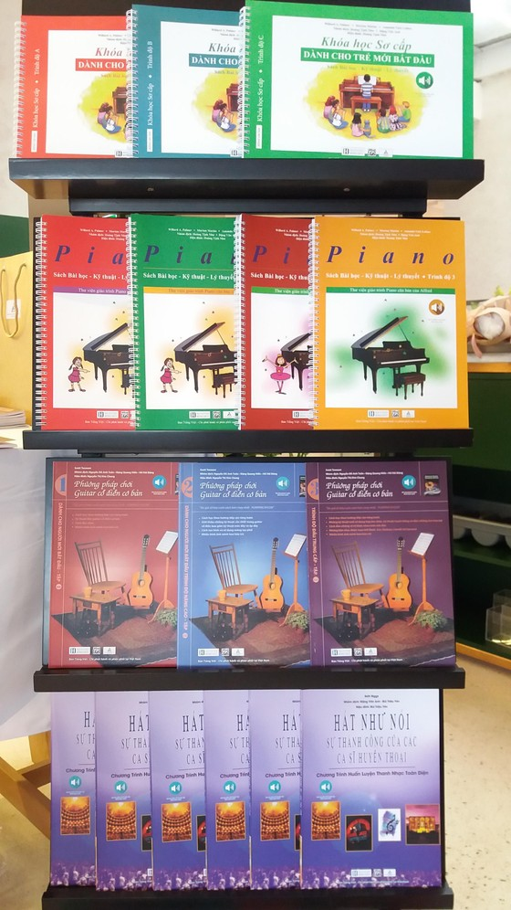 Các ấn phẩm giáo dục âm nhạc nổi tiếng thể giới đến Việt Nam ảnh 2