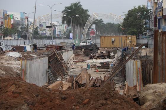 Đà Nẵng: Tiến độ thi công hầm chui Nguyễn Tri Phương - Điện Biên Phủ chậm 1,5 tháng ảnh 2