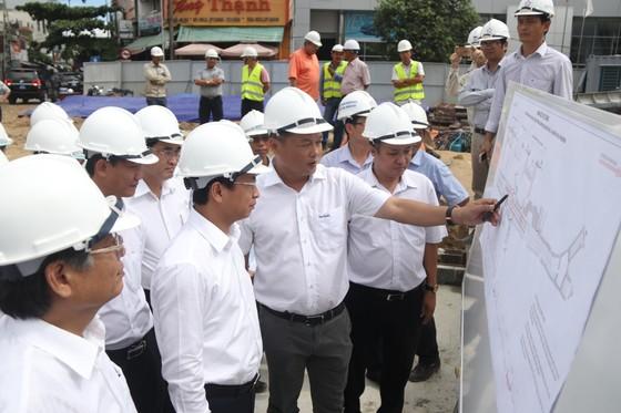 Đà Nẵng: Tiến độ thi công hầm chui Nguyễn Tri Phương - Điện Biên Phủ chậm 1,5 tháng ảnh 1