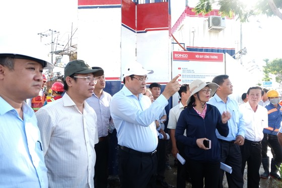 Hầm chui phục vụ APEC chậm tiến độ nghiêm trọng  ảnh 4