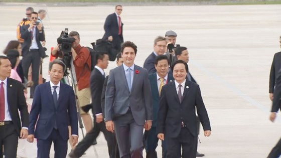 Thủ tướng Canada đã đến Đà Nẵng dự APEC  ảnh 5