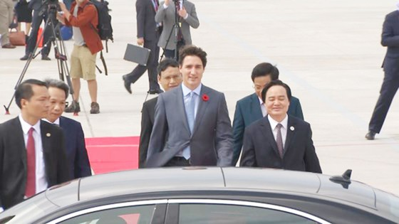 Thủ tướng Canada đã đến Đà Nẵng dự APEC  ảnh 7