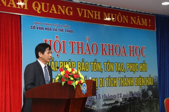 Đà Nẵng tìm giải pháp phát huy giá trị di tích thành Điện Hải ảnh 1
