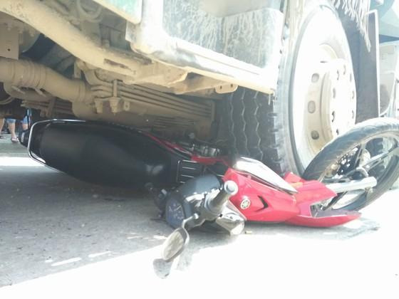 Đà Nẵng: Lại chết thảm dưới bánh xe ben  ảnh 1