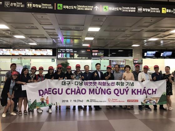 Mở đường bay trực tiếp Đà Nẵng – Daegu (Hàn Quốc) ảnh 1