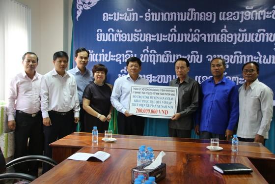 Đà Nẵng hỗ trợ tỉnh Attapeu (Lào) 100.000USD để khắc phục vỡ đập thủy điện ảnh 1