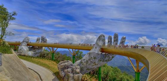 Ngắm toàn TP Đà Nẵng từ cây cầu ở độ cao 1.414m  ảnh 4