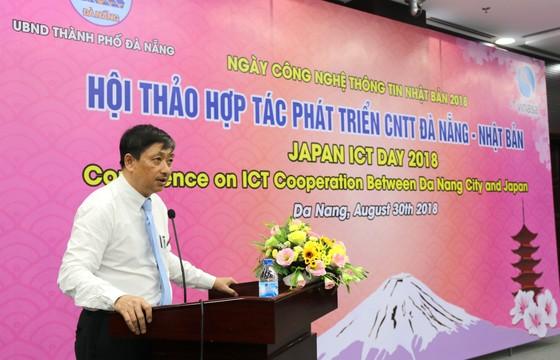 Đà Nẵng và Nhật Bản đẩy mạnh hợp tác phát triển CNTT  ảnh 1