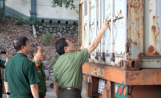 Bắt giữ khoảng 10 tấn ngà voi, vảy tê tê nhập lậu qua cảng Tiên Sa  ảnh 1