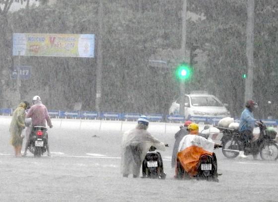 Mưa to trắng đêm, nhiều khu vực TP Đà Nẵng ngập nặng  ảnh 9