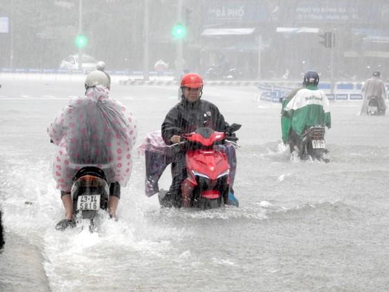 Mưa to trắng đêm, nhiều khu vực TP Đà Nẵng ngập nặng  ảnh 12