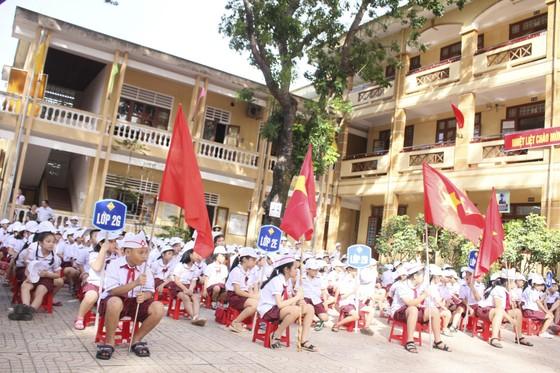 Nhiều trường học ảnh hưởng mưa lũ ở Quảng Trị, Hà Tĩnh khai giảng năm học mới ảnh 2