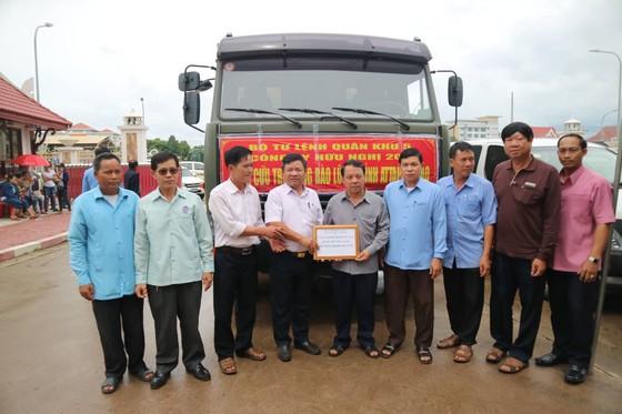 Lực lượng cứu hộ quốc tế đổ về Lào cứu trợ sau vụ vỡ đập thủy điện ảnh 3