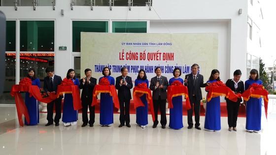 Thành lập trung tâm phục vụ hành chính công Lâm Đồng ảnh 1